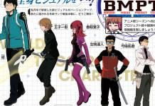 Design de personagens de World Trigger 3