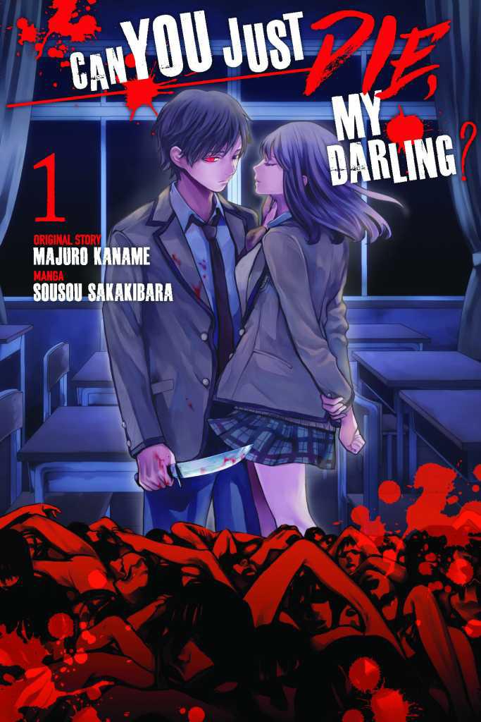 Capa do volume 1 de Can You Just Die, My Darling?