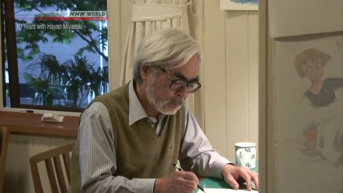 NHK World disponibilizou gratuitamente o documentário 10 Years with Hayao Miyazaki