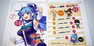 Novel de Konosuba vai mesmo terminar a 1 de Maio