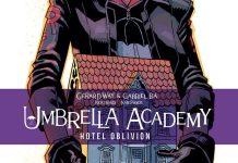 Devir lançou Umbrella Academy #03 Hotel Oblivion