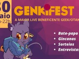 Evento beneficiente Genkifest será realizado no dia 30 de maio