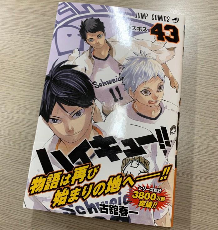 Haikyu!! já ultrapassou as 38 milhões de cópias