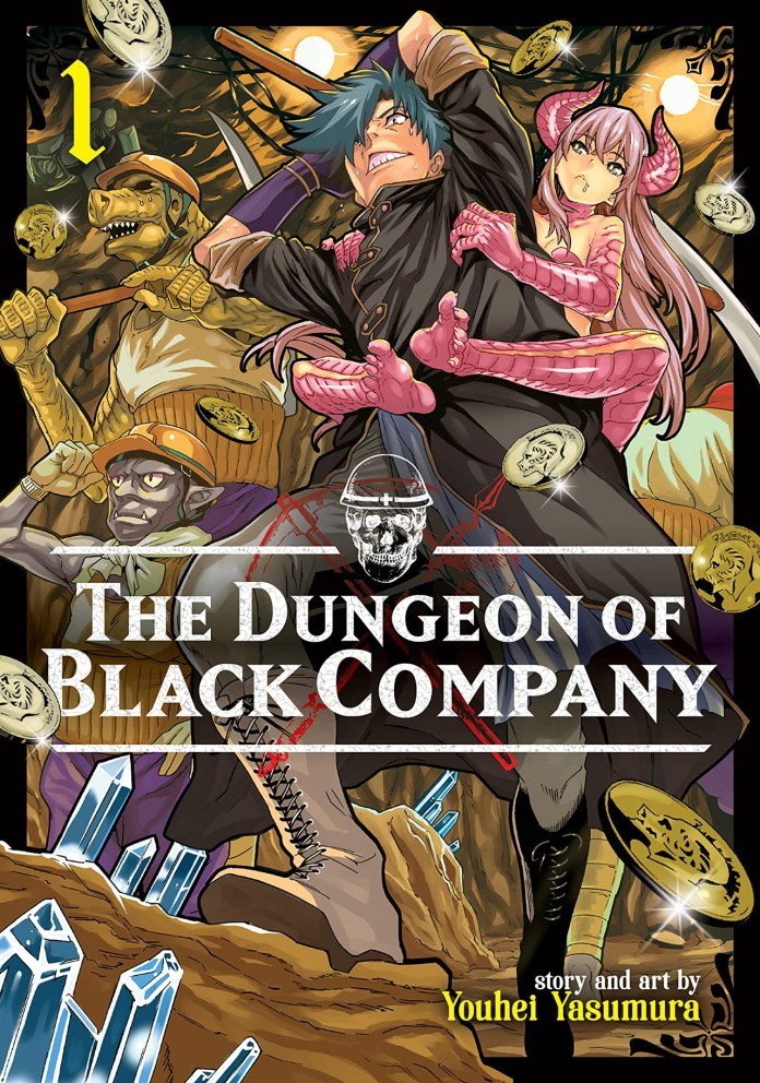 Capa do volume 1 de The Dungeon of Black Company (Meikyuu Black Company)