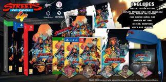 A Merge Games anunciou edições físicas de Streets of Rage 4