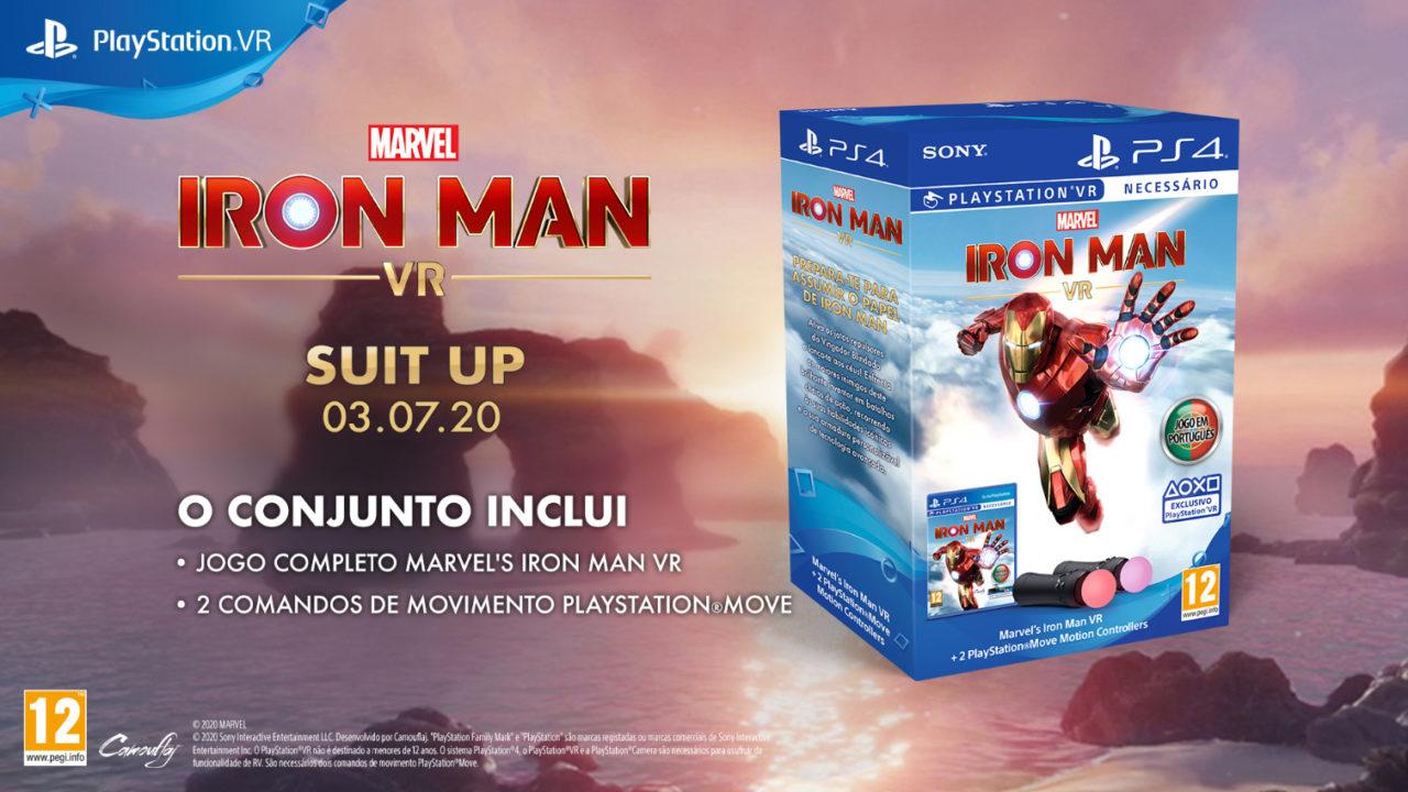 Anunciado Bundle e demo de Marvel's Iron Man VR | OtakuPT