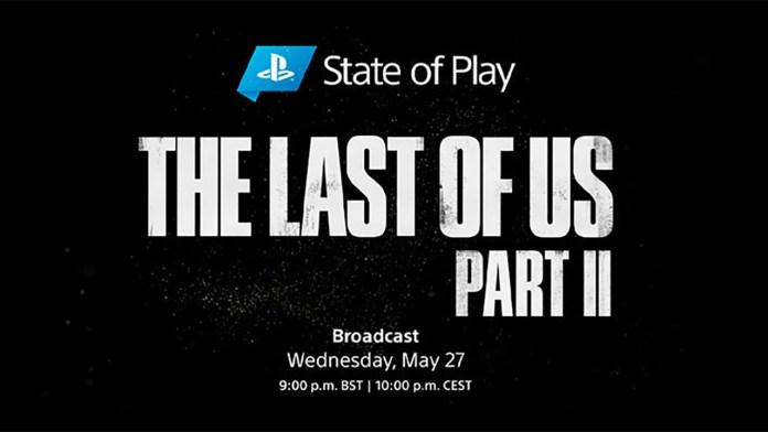 State of Play dedicado a The Last of Us: Parte II a 27 de Maio