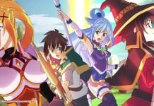 Abertura do RPG de Konosuba