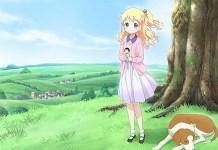 Imagem promocional do filme anime de Kin-iro Mosaic