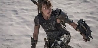 Nova foto de Milla Jovovich no filme live-action de Monster Hunter