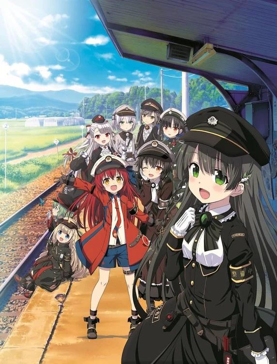 Série anime Rail Romanesque vai ter 12 episódios e estrear no Outono 2020