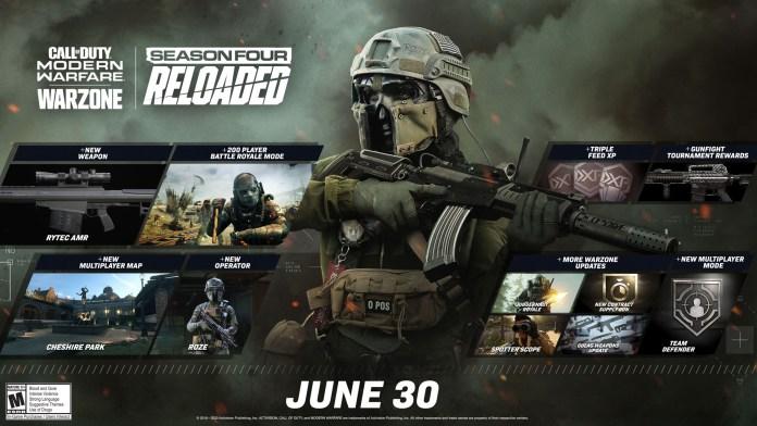 Suporte para 200 jogadores em Call of Duty Warzone