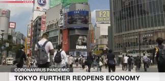Tóquio passa para a fase 2 do plano de recuperação COVID-19