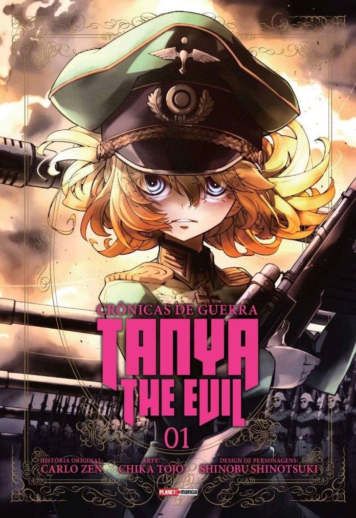 Capa do volume 1 de Youjo Senki (The Military Chronicles of a Little Girl)