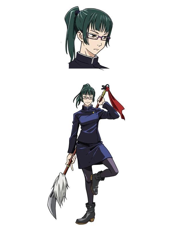 Mikako Komatsu (Sanae Kozuki em Sakura Quest) como Maki Zenin