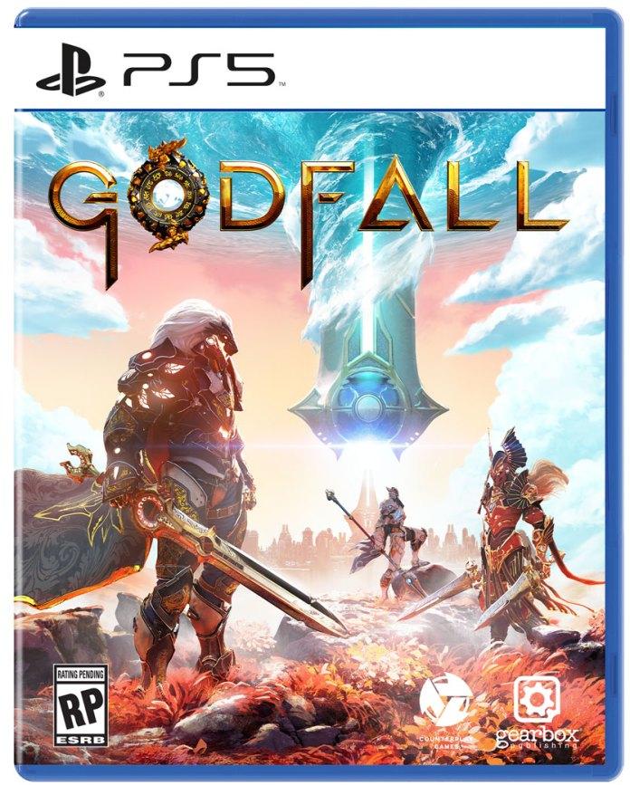 Capa Playstation 5 de Godfall