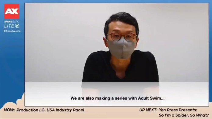 Production I.G vai revelar novo anime em colaboração com o Adult Swim