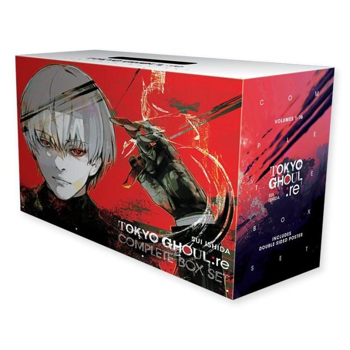 Tokyo Ghoul: re ganha Box Set completo com todos os 16 volumes