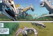 Vê aqui algumas páginas da Comic de Horizon Zero Dawn