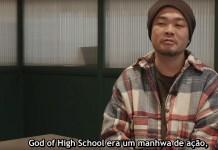 Vê aqui um documentário sobre a criação de The God of High School