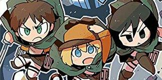 Lançado livro para crianças de Attack on Titan