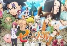Nanatsu no Taizai 4 adiado para Janeiro de 2021