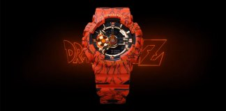 Vídeo promocional do novo G-Shock de Dragon Ball Z