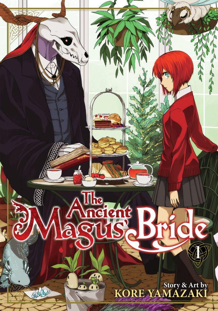 Capa do volume 1 de Mahotsukai no Yome / The Ancient Magus' Bride