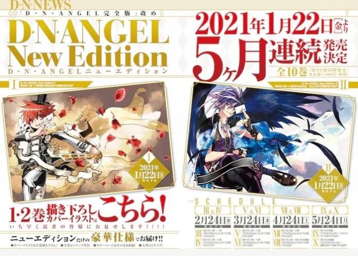 """Faltam """"poucos capítulos"""" para o fim do mangá D.N.Angel"""