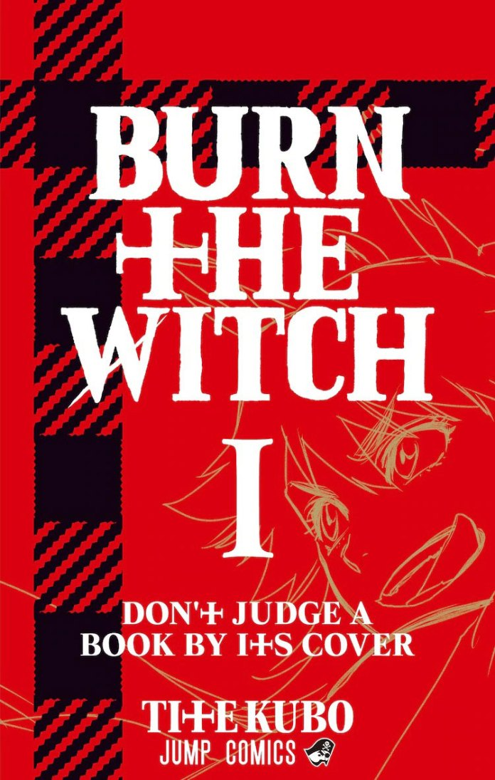 Capa do volume 1 do mangá Burn the Witch de Tite Kubo