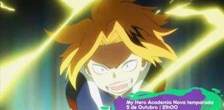 My Hero Academia 3 estreia dia 5 de Outubro no canal BIGGS