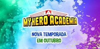 My Hero Academia 3 estreia em Portugal em Outubro 2020