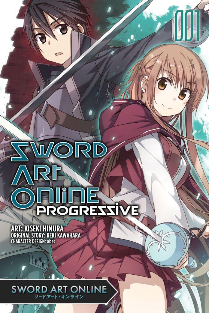 Capa do mangá de Sword Art Online: Progressive