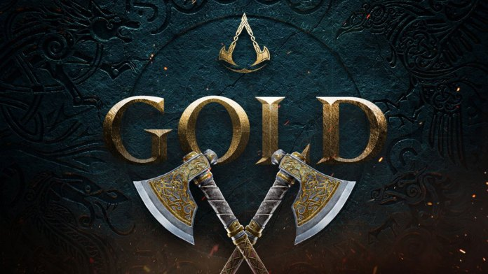 Assassin's Creed Valhalla atinge fase Gold