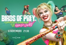 Birds of Prey na TV Portuguesa dia 6 de Novembro