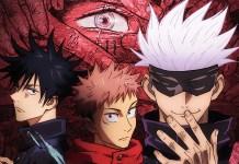 Confirmados 24 episódios de Jujutsu Kaisen em 8 volumes DVD/BD