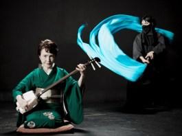 Gurenge em Instrumentos Japoneses Tradicionais