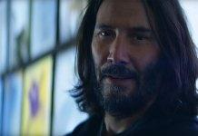 Trailer de Cyberpunk 2077 com Keanu Reeves em destaque