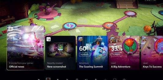 Vê aqui o novo interface da Playstation 5 em acção