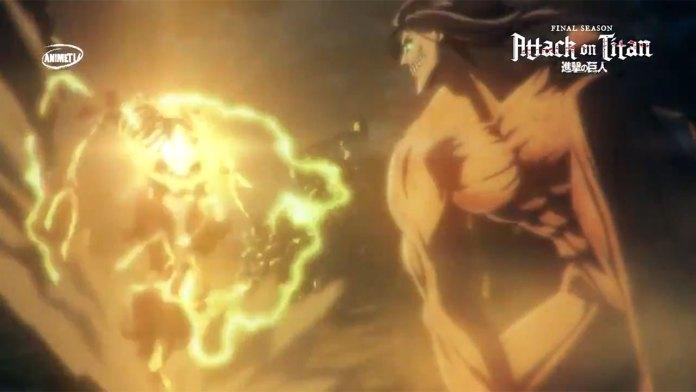 Attack On Titan Final comercial