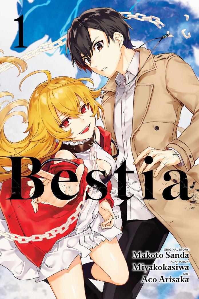 Capa do volume 1 de Bestia