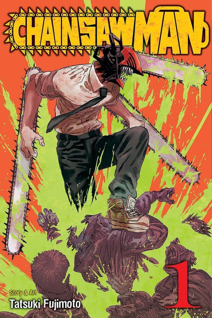 cover volume 1 Chainsaw Man