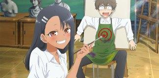 Nova imagem promocional da série anime de Don't Toy with Me, Miss Nagatoro