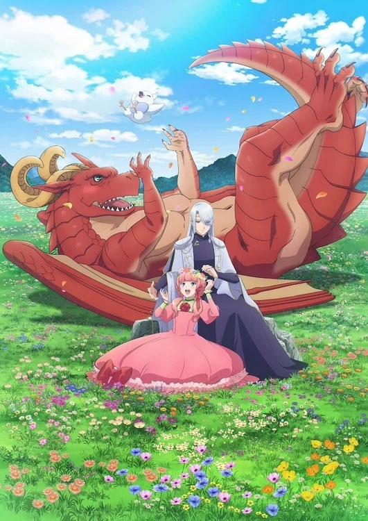 Nova imagem promocional do anime Dragon Goes House-Hunting