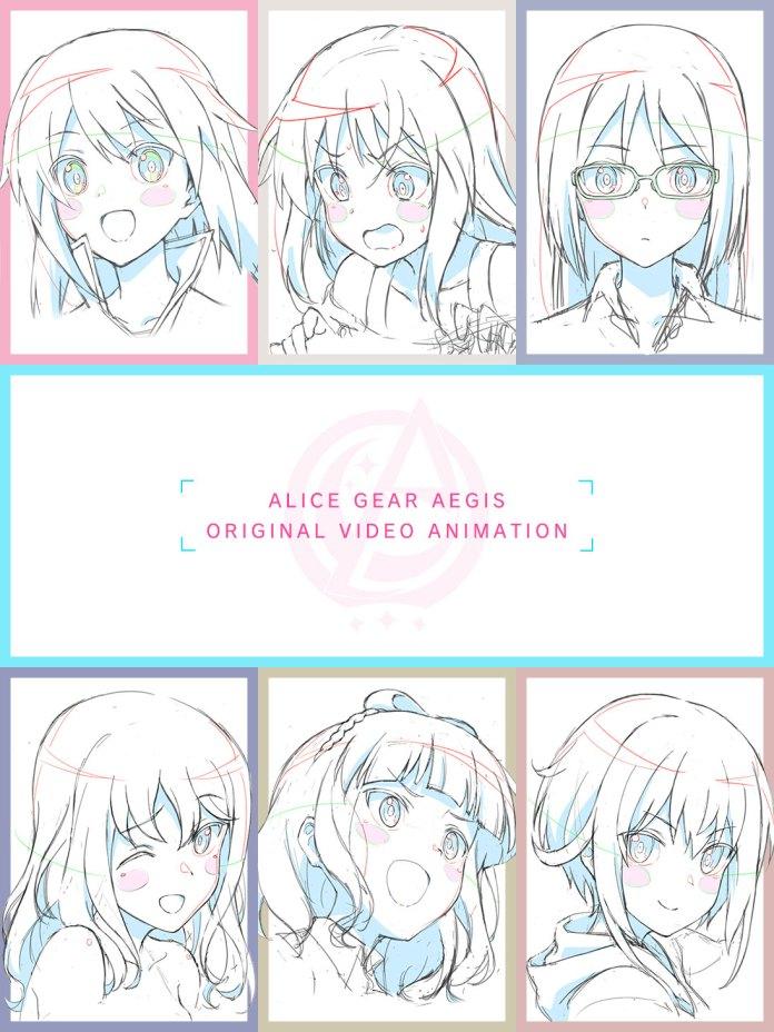 Alice Gear Aegis ova visual
