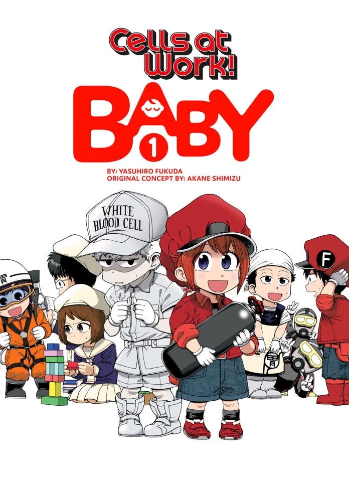 Cells at Work! Baby volume 1 cover