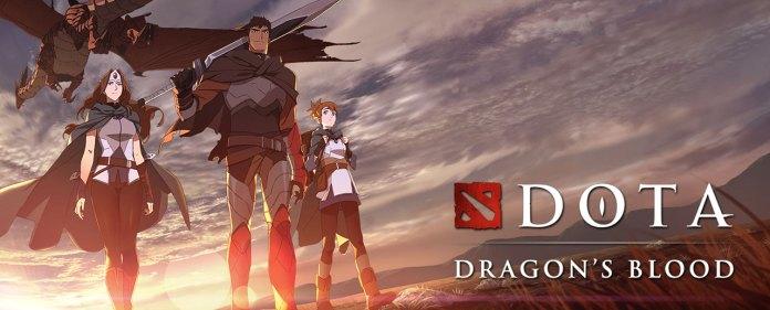 DOTA Dragon's Blood visual