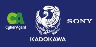 Kadokawa formou aliança de capital com a CyberAgent e a Sony