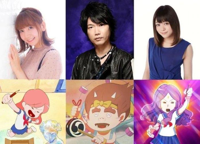 Oshiete Hokusai! The Animation cast