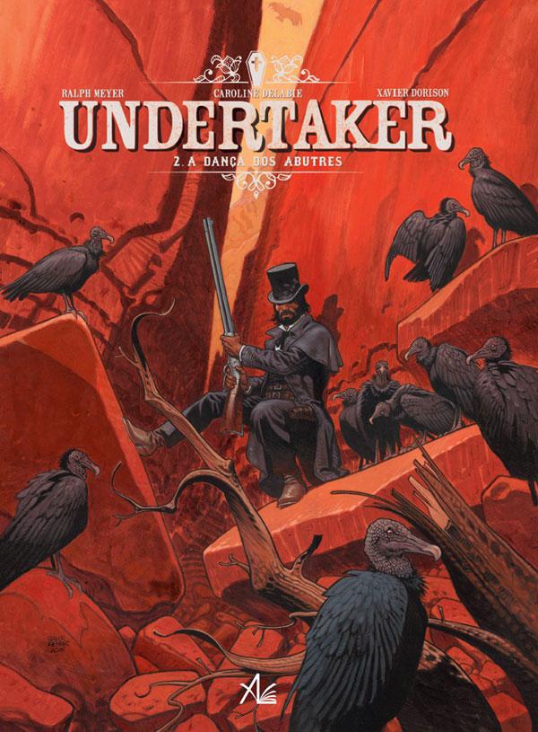 Undertaker 2 pela Ala dos Livros - Capa